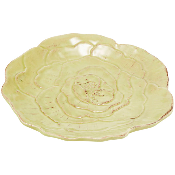 Romantica Rose 22cm Small Lime Plate