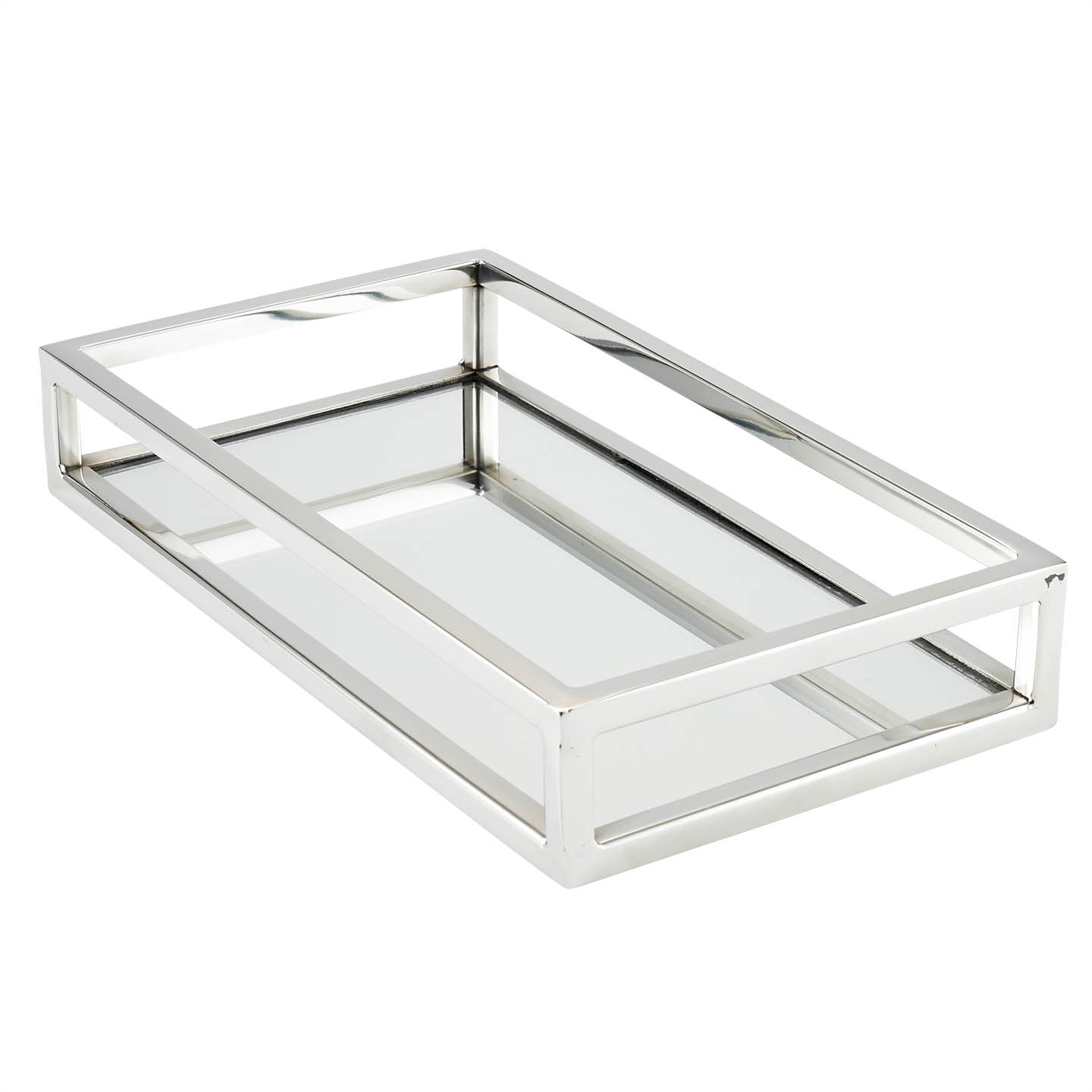 Rectangular Mirror Vanity Tray