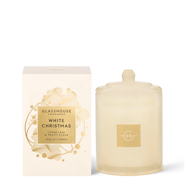 380g White Christmas Soy Candle