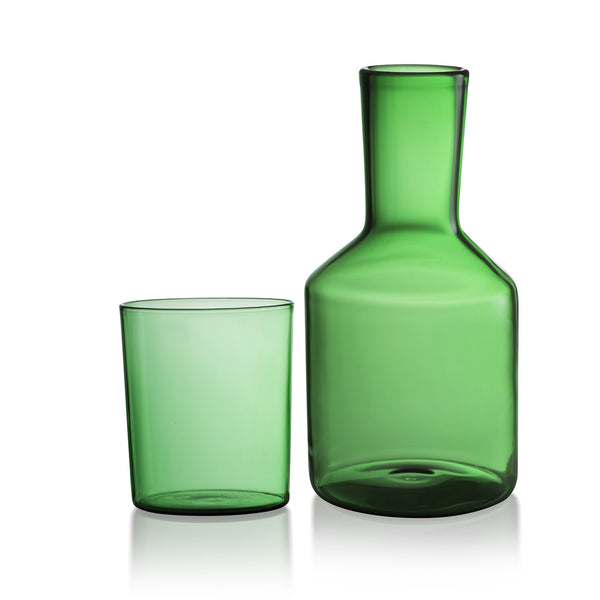 Green Carafe Set