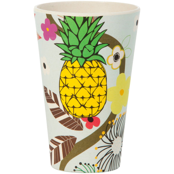 400ml Pineapple Bamboo Tumbler