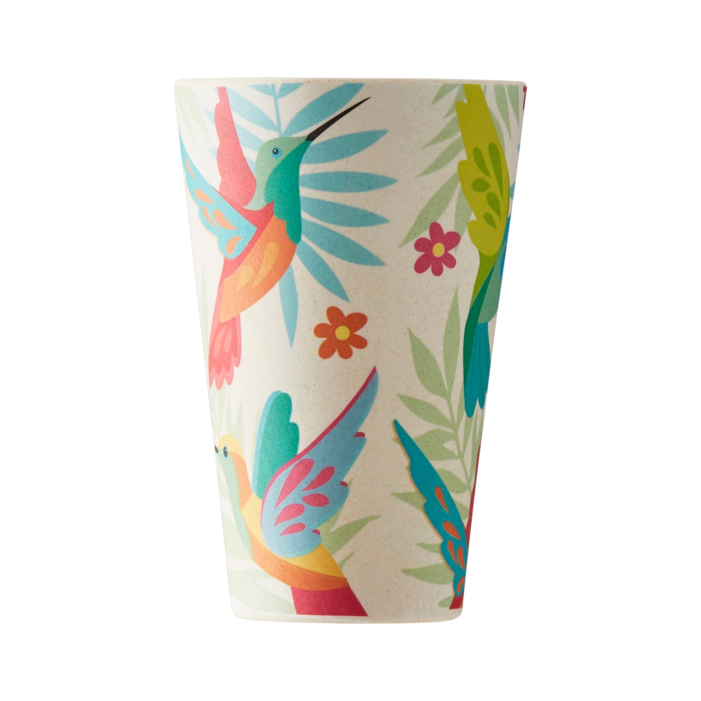 Bamboo 400ml Hummingbird Tumbler