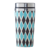 500ml Bamboo Blue Diamonds Thermal Mug