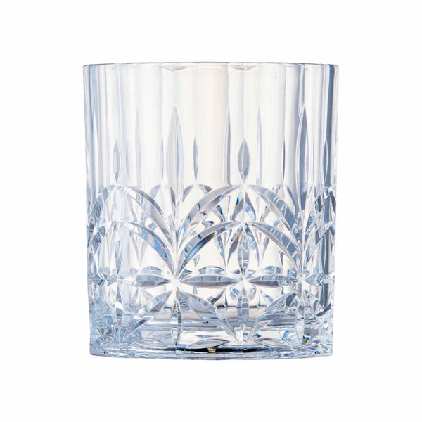 405ml Clear Embossed DOF Glass