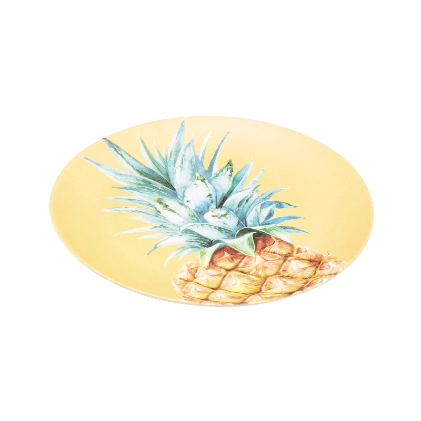Bamboo 25cm Pineapple Plate