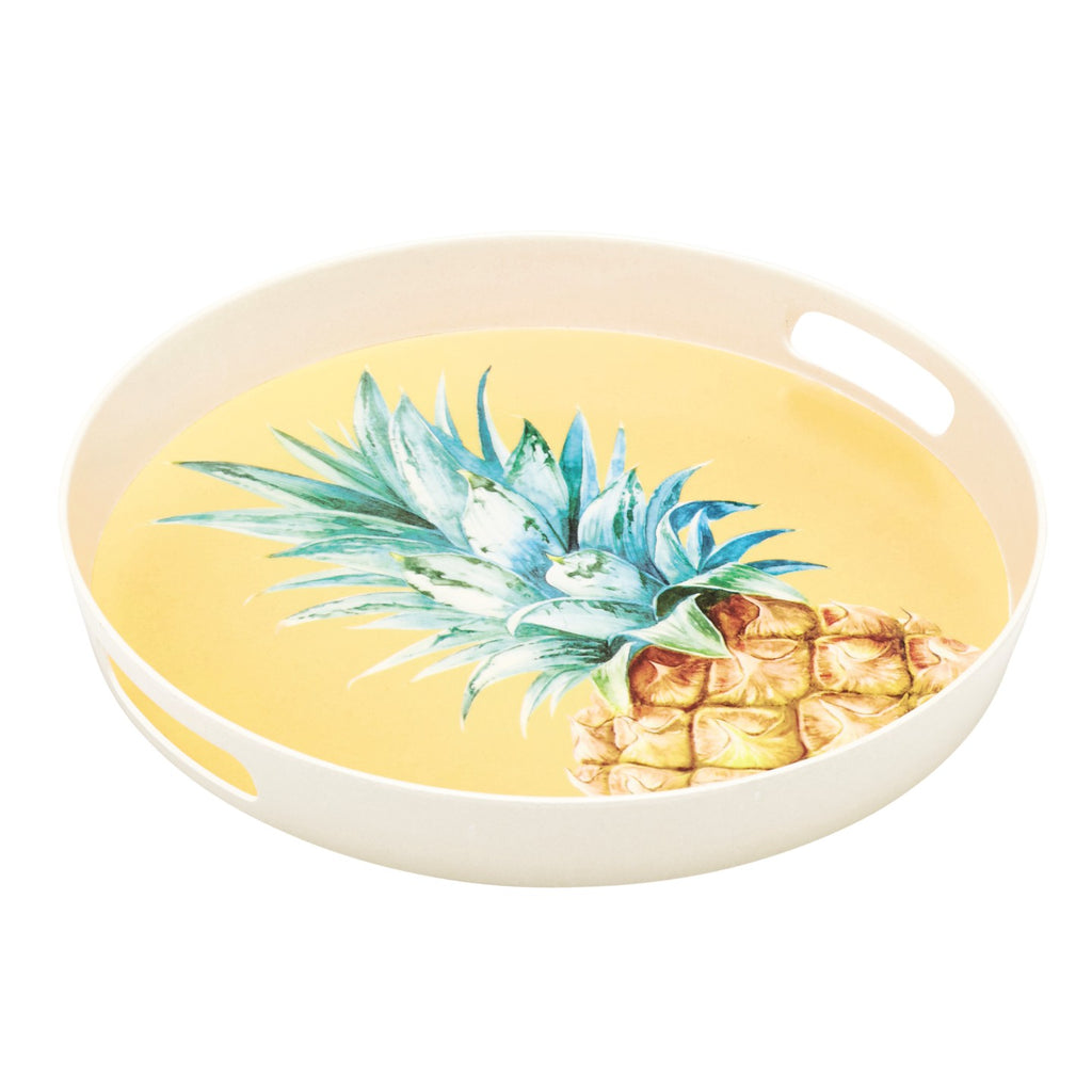 Bamboo 35cm Pineapple Tray