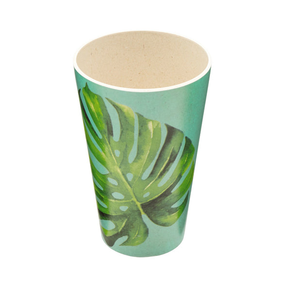 Bamboo Monstera Tumbler