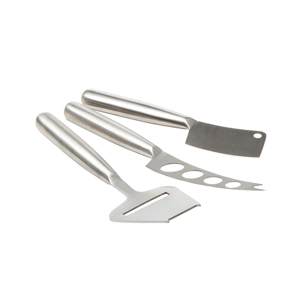 EAT 3 Piece Stainless Steel Cheese Knives Set