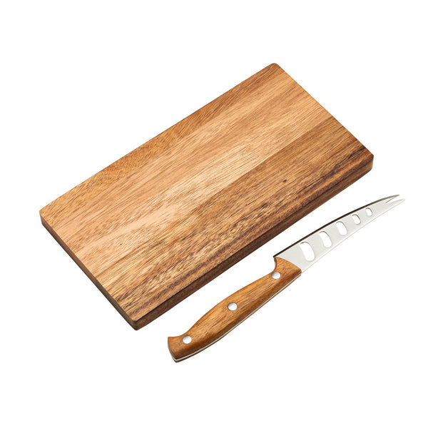 EAT 2 Piece Board & Cheese Knife Set
