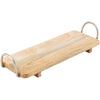 60cm x 20cm x 10cm Wooden Tray with Handles
