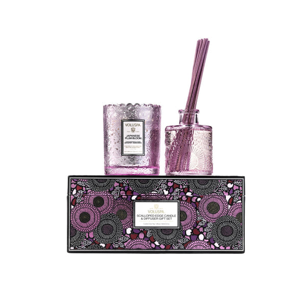 Voluspa Japenese Plum Gift Set