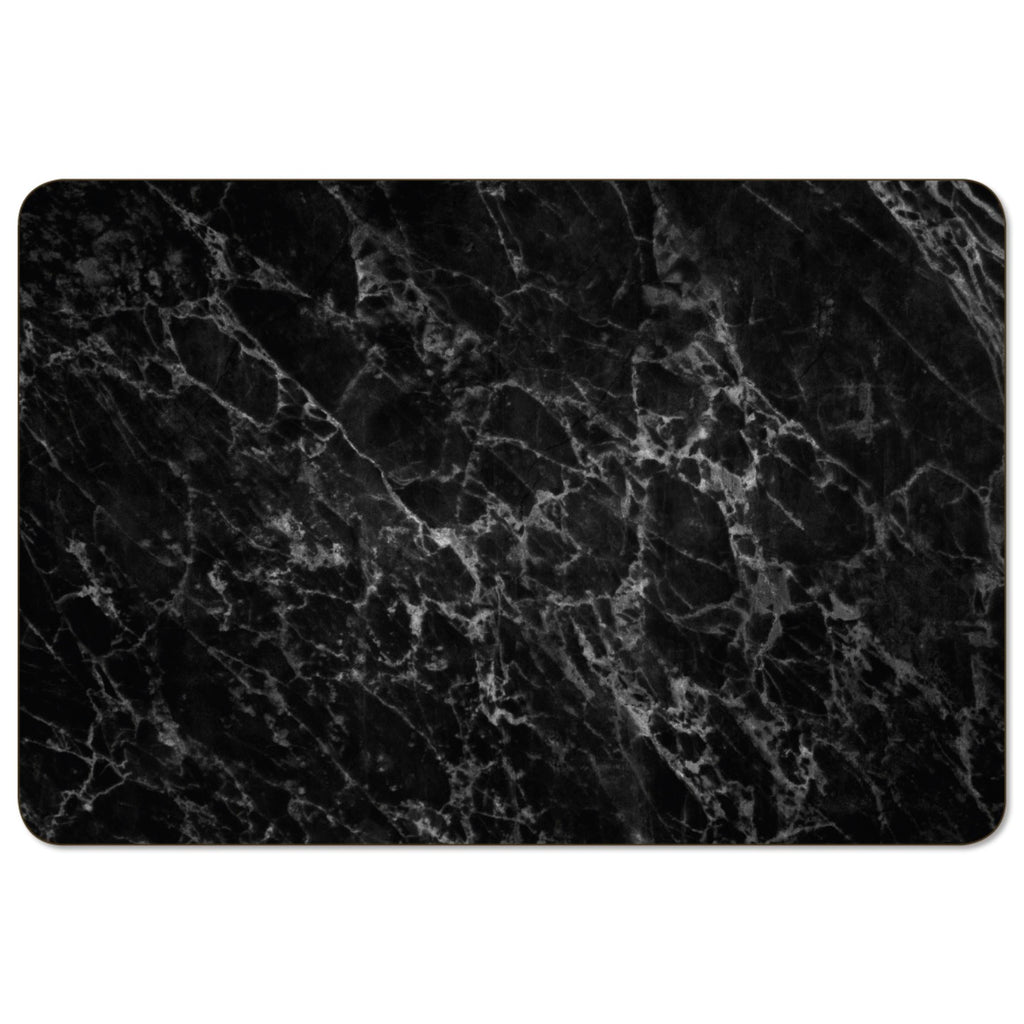Rectangle Marble Black Placemat