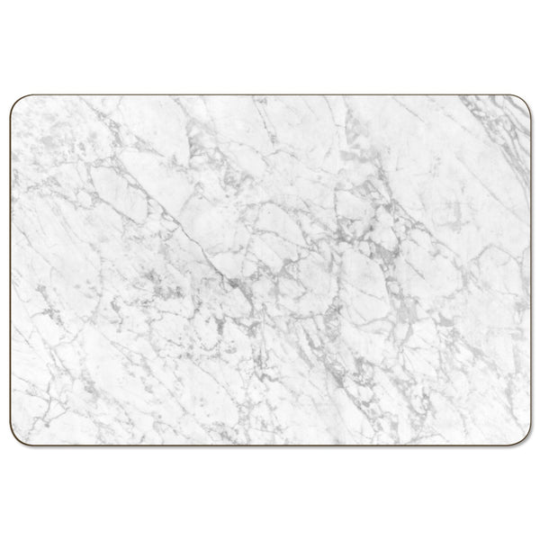Rectangle Marble White Placemat