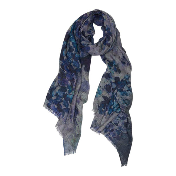 Bouquet Bloom Blues Scarf