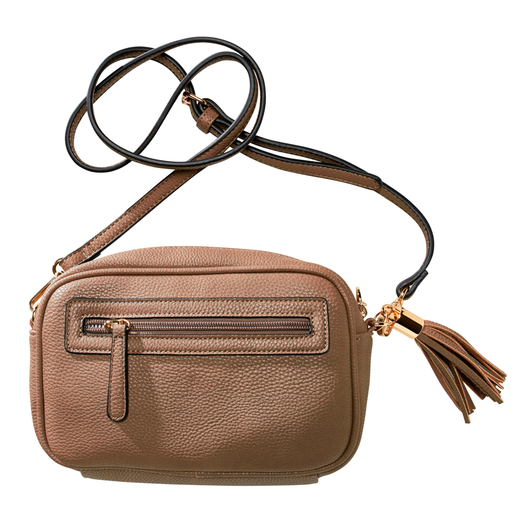 Mocha Gigi Cross Body Bag