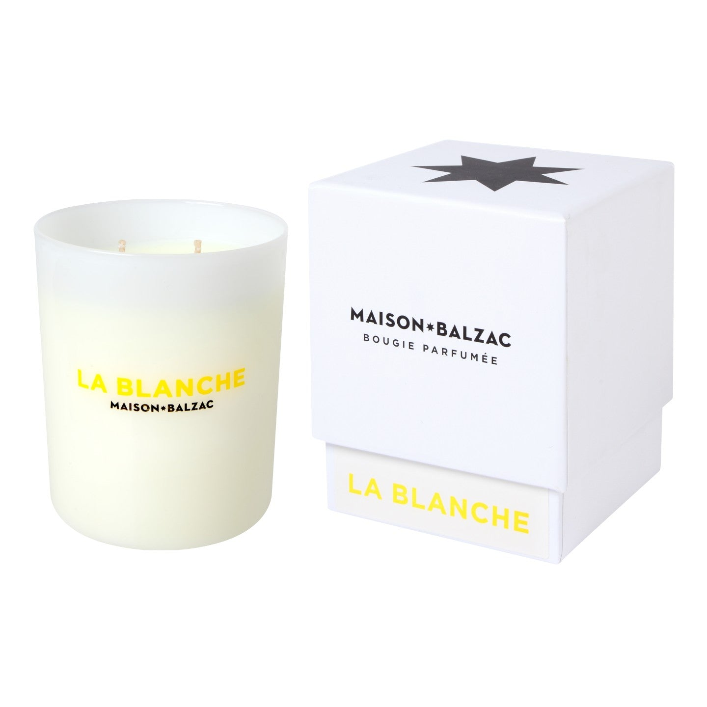 La Blanche Large Candle