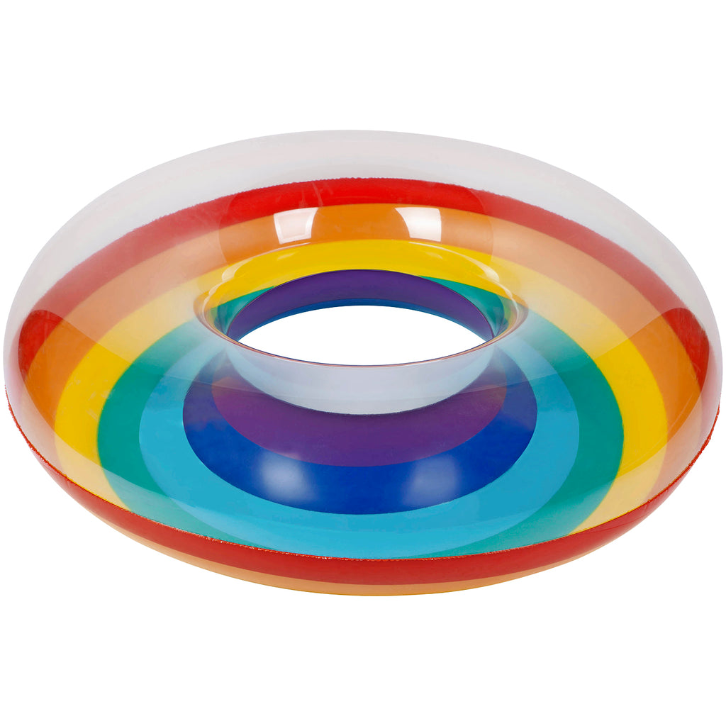 Rainbow Inflatable Pool Ring