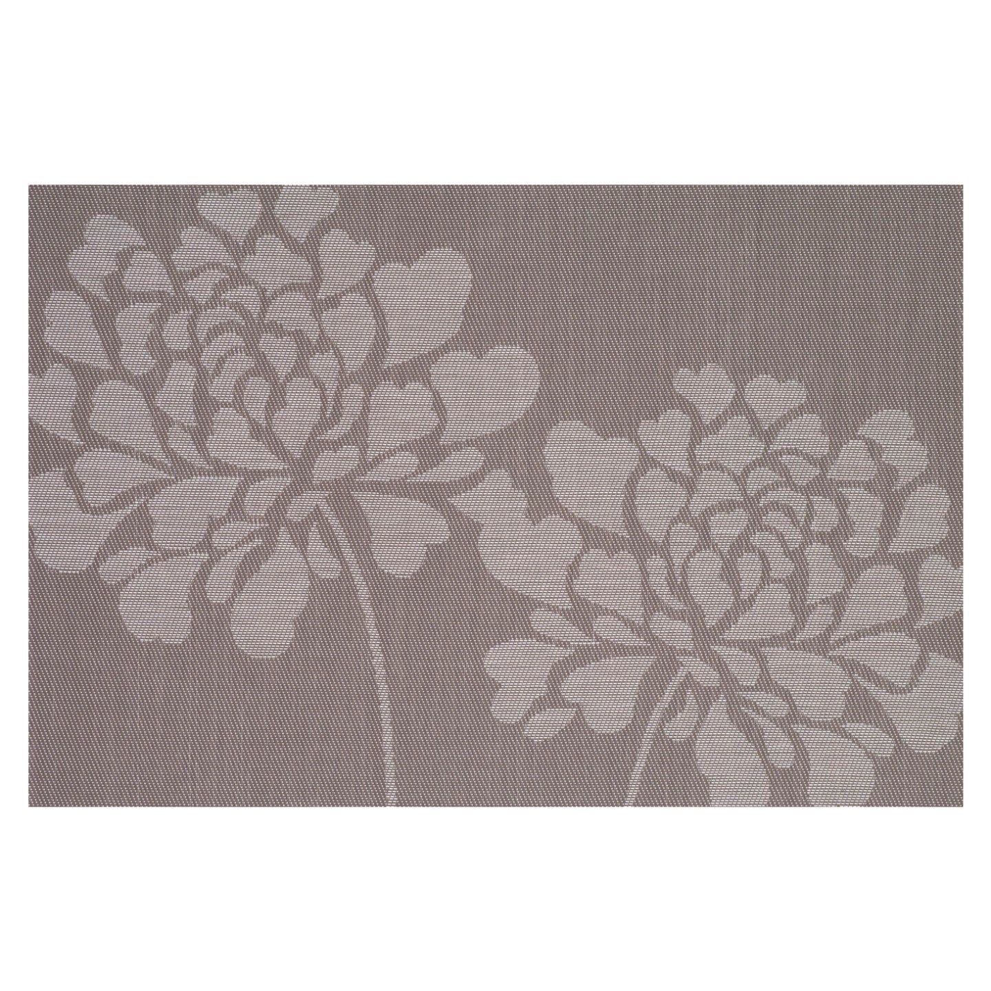 Floral Taupe PVC Placemat