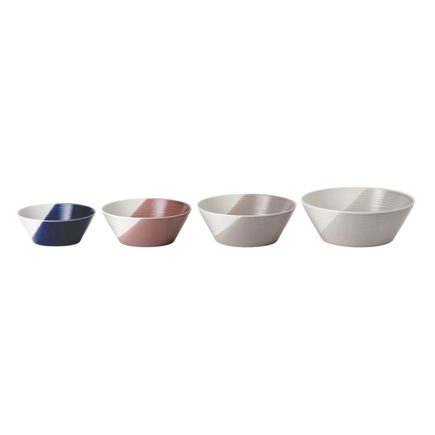 Bowls of Plenty Set of 4 Plates Nesting Bowls