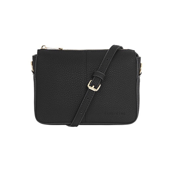 Positano Black Crossbody Bag