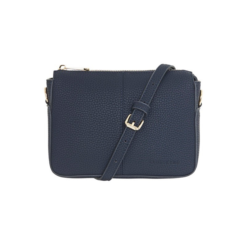 Positano French Navy Crossbody Bag