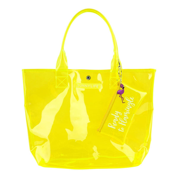 Neon Yellow Bag