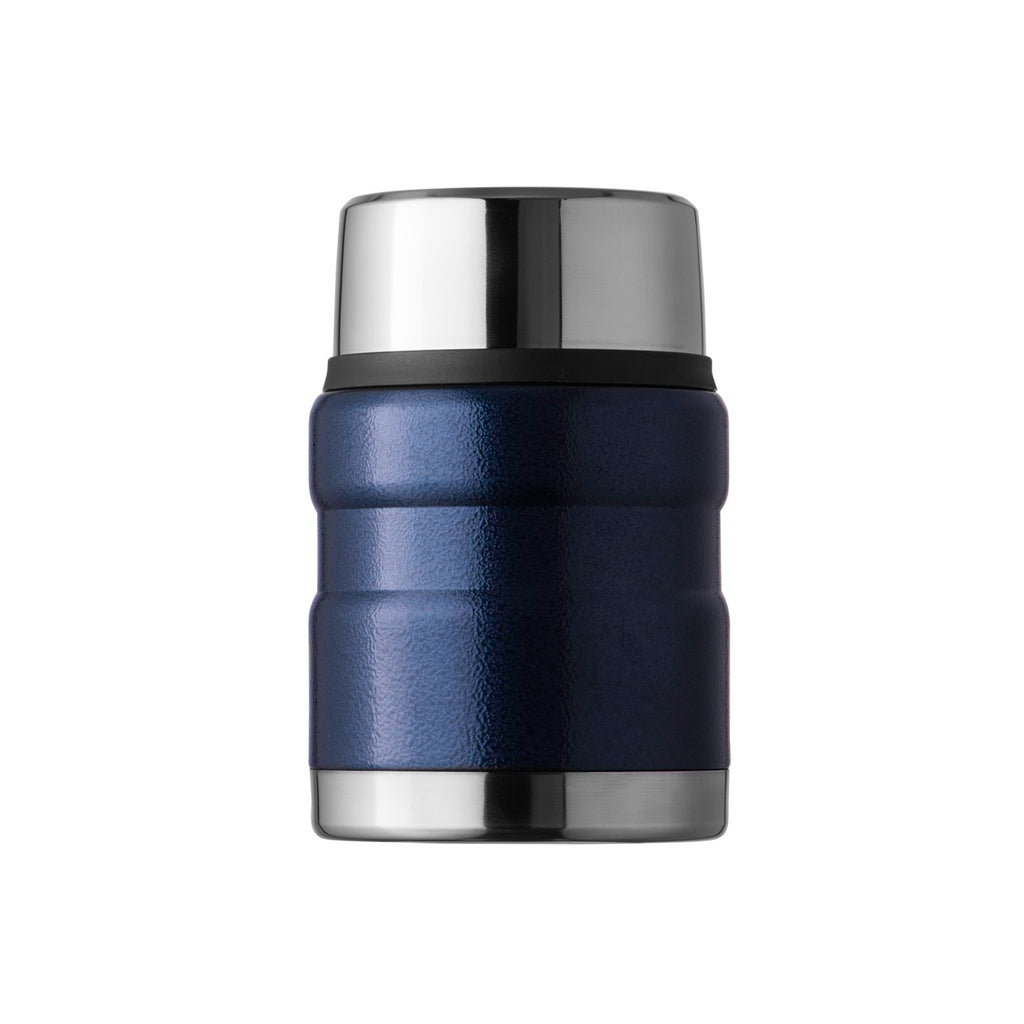 500ml Crackle Navy Food Flask