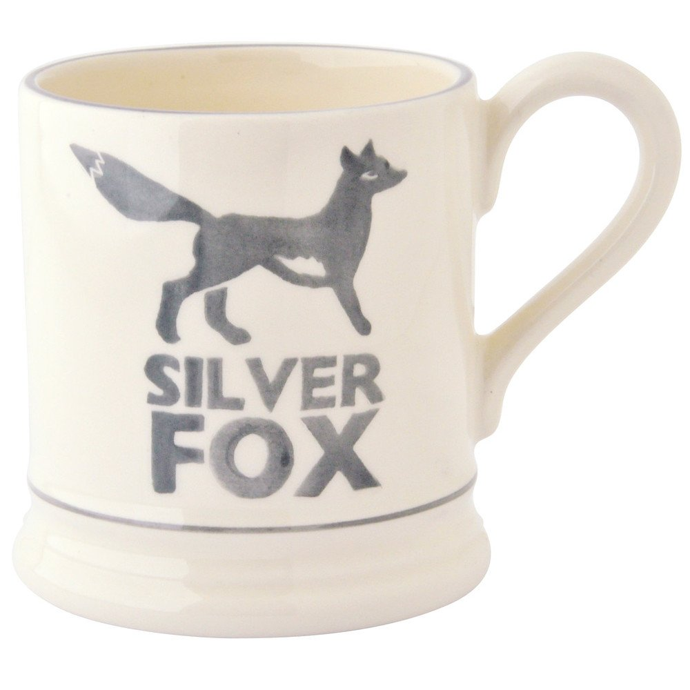 285ml Silver Fox 1/2 Pint Mug