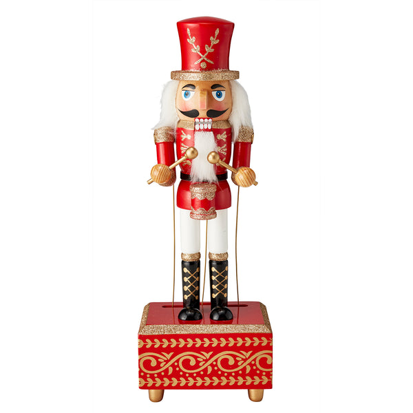 Musical Nutcracker Christmas 5.5""