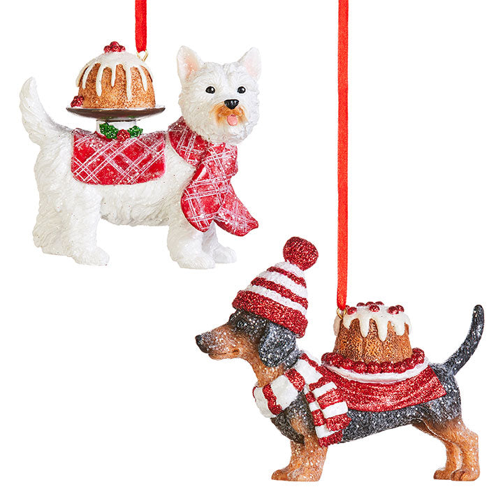 Dessert Dog Decoration Assorted