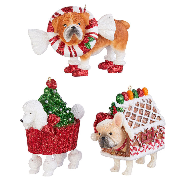 Bakery Dog Decoration Assorted