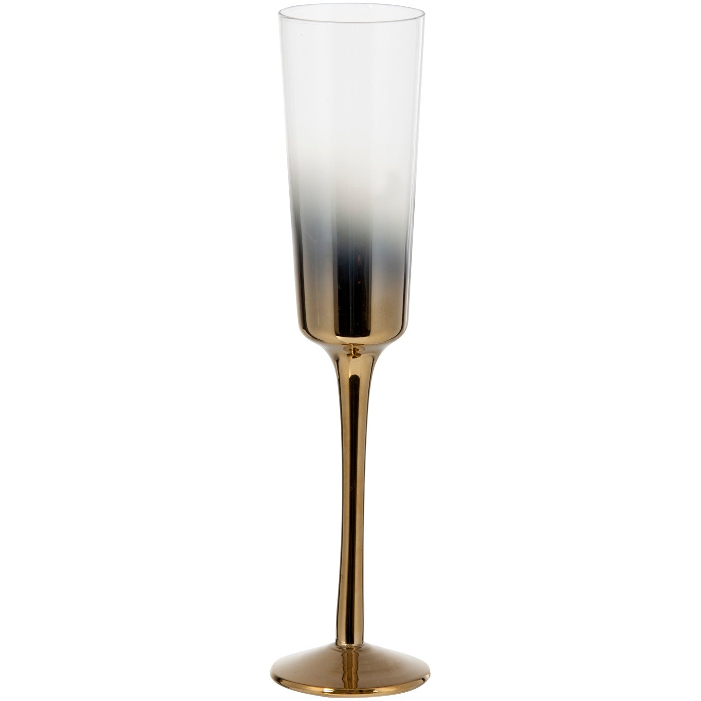 Cariso Set of 4 150ml Gold Champagne Flutes