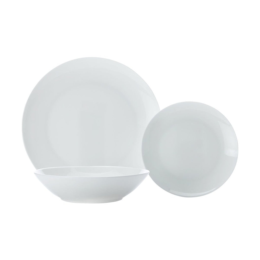 Cashmere Coupe Resort 18 Piece Dinner Set - Minimax