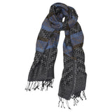 Country Weave Blacks Scarf