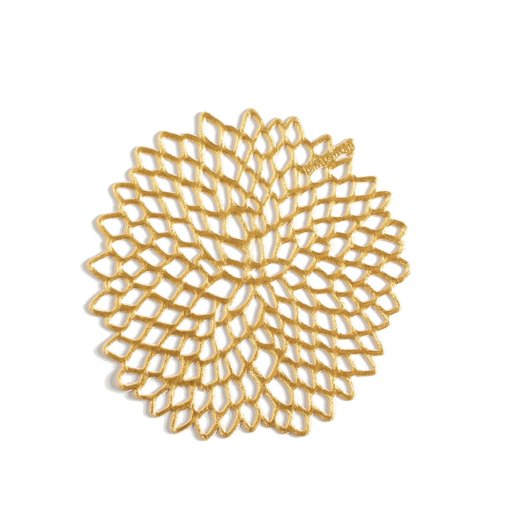 Coasters Dahlia Gold - Set of 6