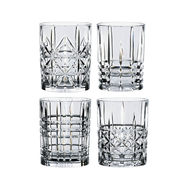 Highland Set of 4 Tumbler Glasses - Minimax