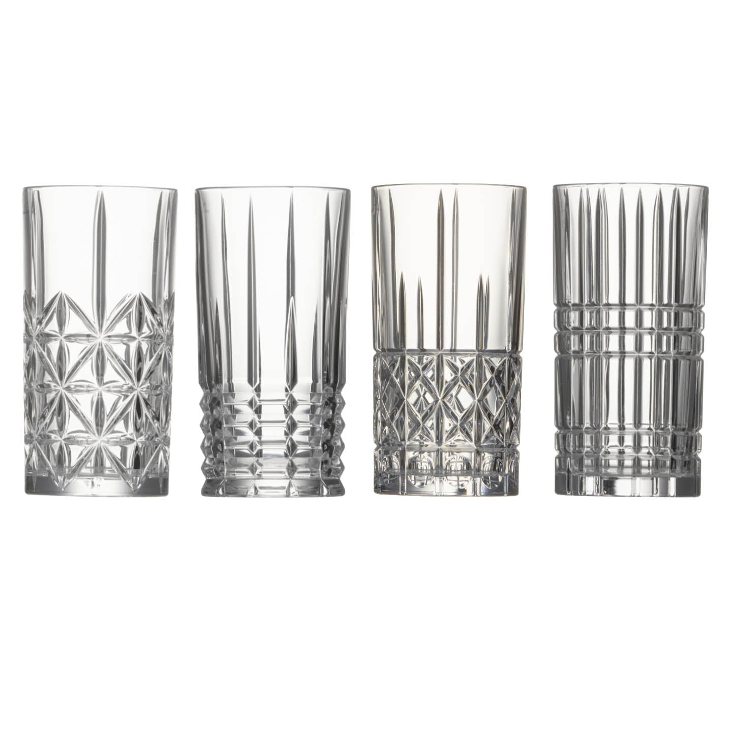 Highland Set of 4 Hiball Glasses