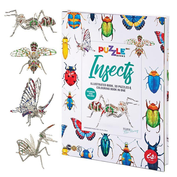 Insects Puzzle Book - Minimax