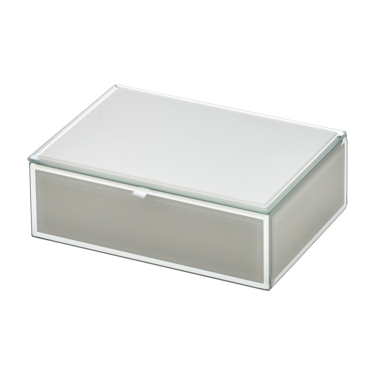 Sara Medium Cool Grey Jewellery Box - Minimax