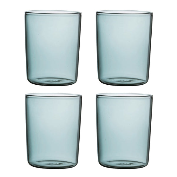 Set of 4 Smoke Tumblers - Minimax