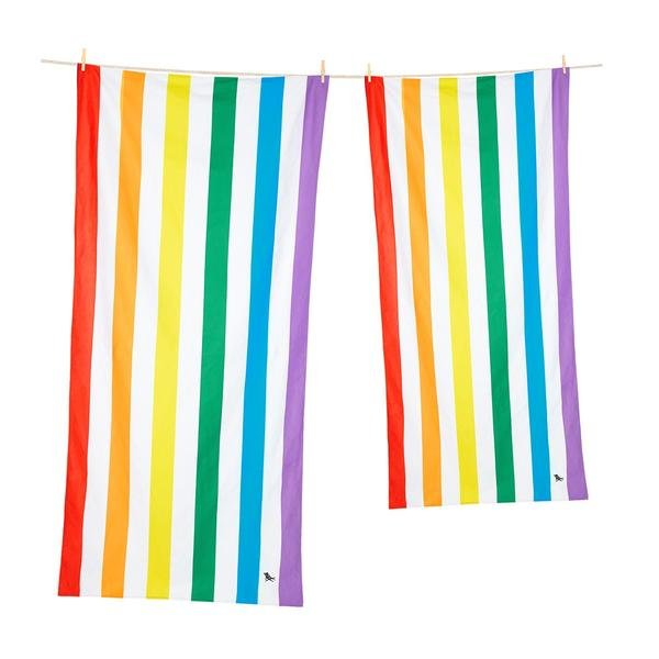 Summer Collection L 160cm x 90cm Rainbow Skies Towel - Minimax