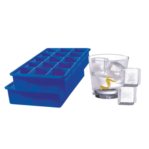 Tovolo Perfect Cube Set of 2 Blue - Minimax