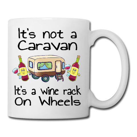 It's not a caravan its a wine rack Mug, Coaster, Place Mat