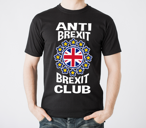 Anti Brexit Brexit Club  T Shirt