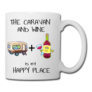 The Caravan and Wine Mug, Coaster, Place Mat