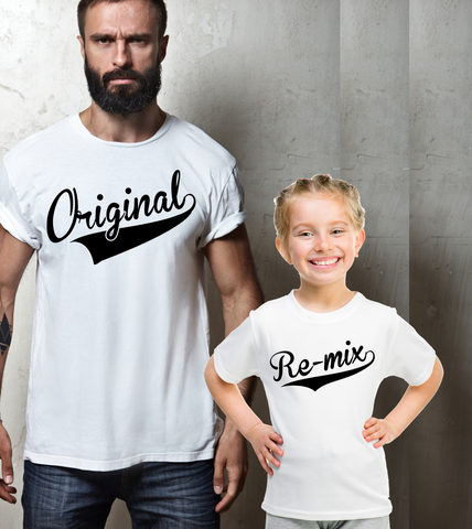 Fathers Day Original and Remix T Shirt