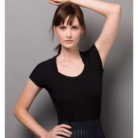 Women's Corporate Top Scoop Neck