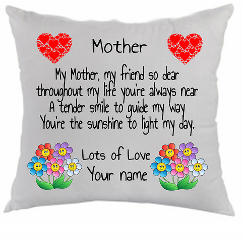 Custom Mothers Day Cushion Cover