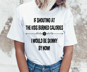 Shouting at the Kids T Shirt.