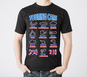 2019 Touring Racing Calendar T Shirt